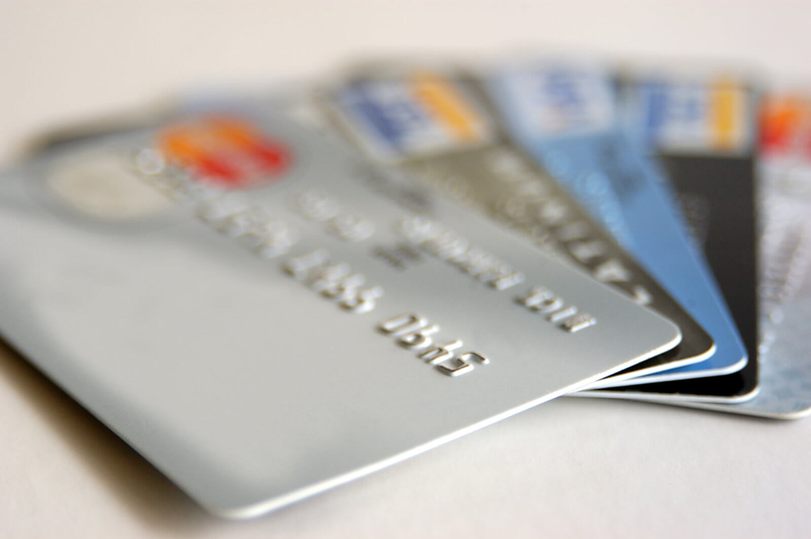 credit cards accounts